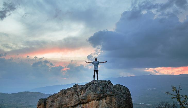 Enfrentarse a la montaña